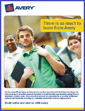 Avery Education Brochure