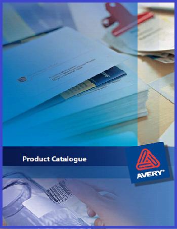 Avery Product Catalogue